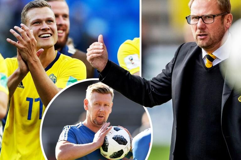 """Haglund om VM–succén: """"Han har varit förbannat bra"""""""