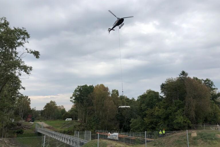 Sjuhärad: Därför flög helikoptern så nära villakvarteret