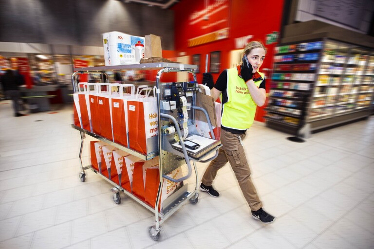 """Explosionsartad ökning av mathandel online i Ulricehamn: """"Kommer bara öka"""""""