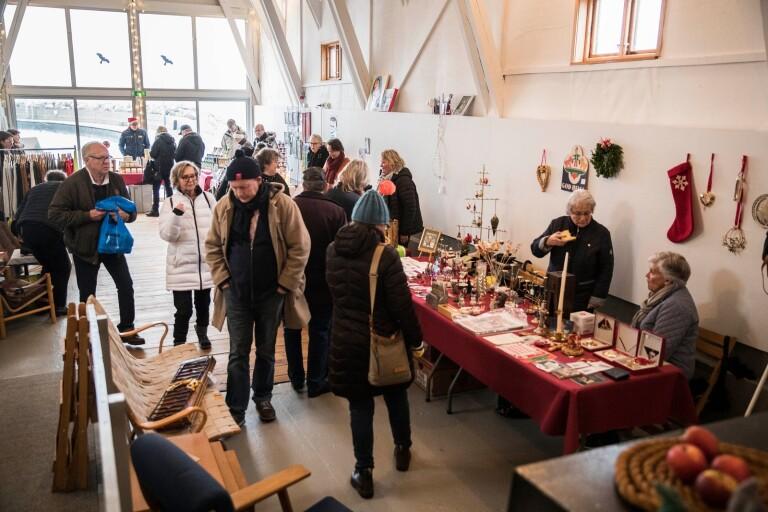 Julmarknad i Kåseberga hamn