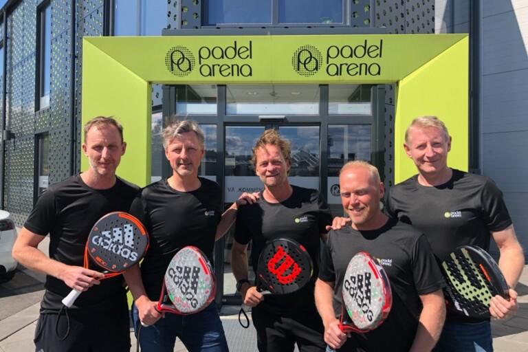 Padel tar Borgholm med storm – ny hall nästa år