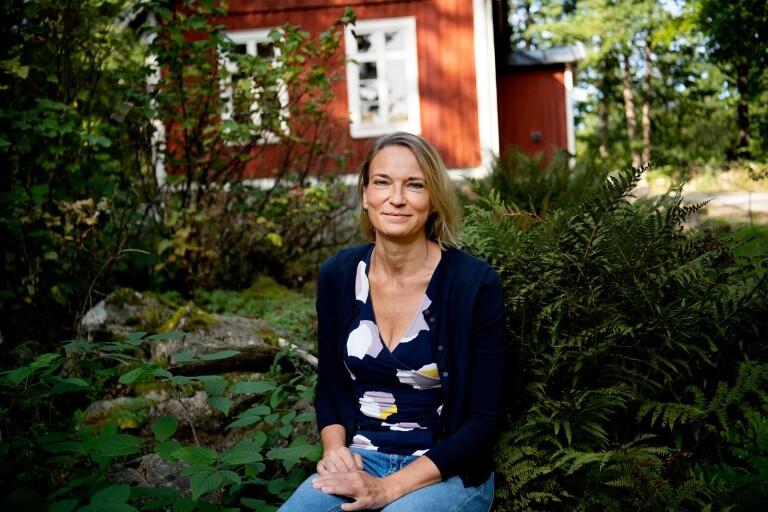 """Maria Bouroncle arbetar på uppföljaren till boken """"Det kom för mig i en hast""""  som handlar om hennes släkting som dränkte sina tre barn."""