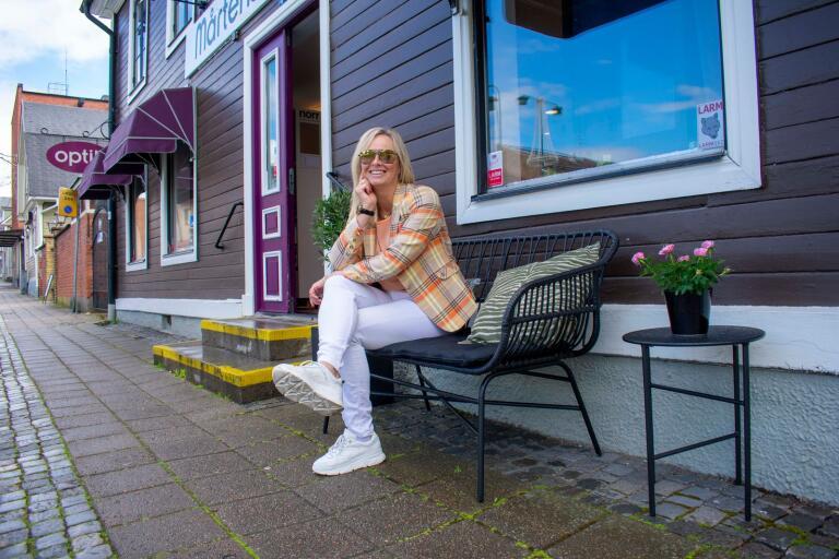 Anette Löv, ägare till Mårtensson optik.