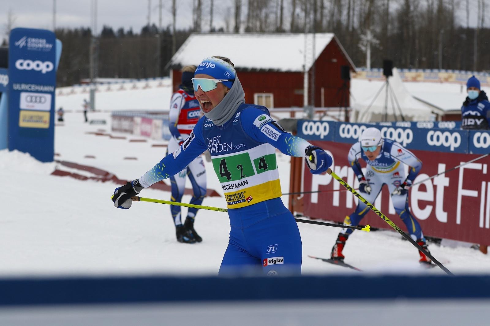 Världscupen i Ulricehamn 2021TeamsprintLampic