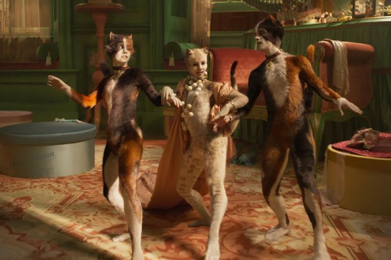 """Filmatiseringen av """"Cats"""" är årets mest utskällda dunderflopp."""