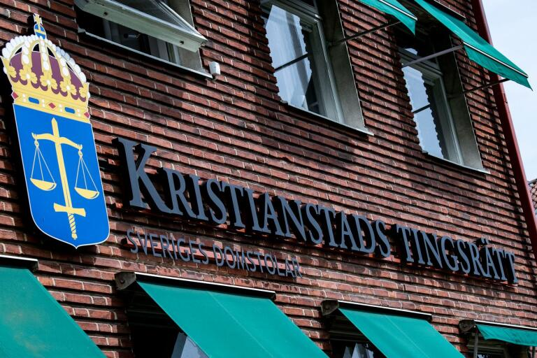 Ola Forslin var kassör och medlemsansvarig i Kristianstads nämndemannaförening.