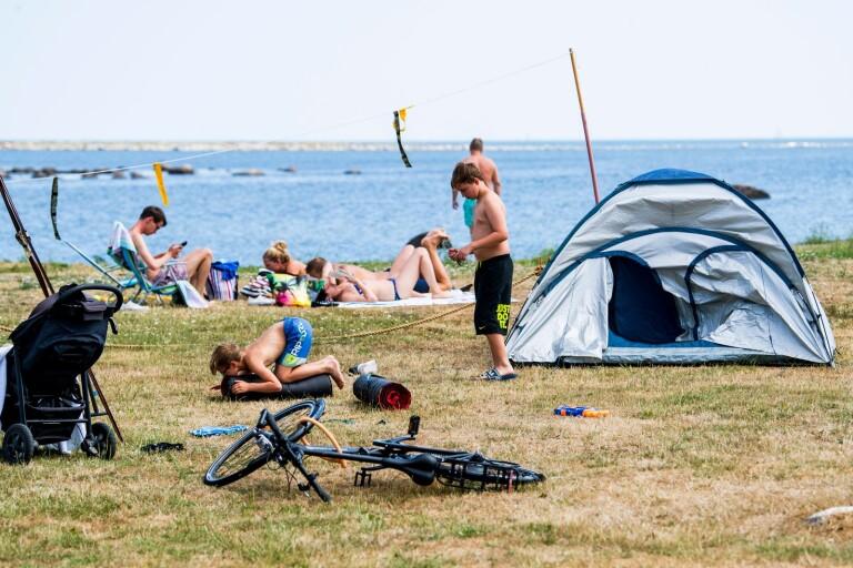 Rekordsommar för camping