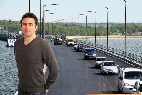 """Ledare: """"Så borde Volvo göra sin reklamfilm på Ölandsbron!"""""""