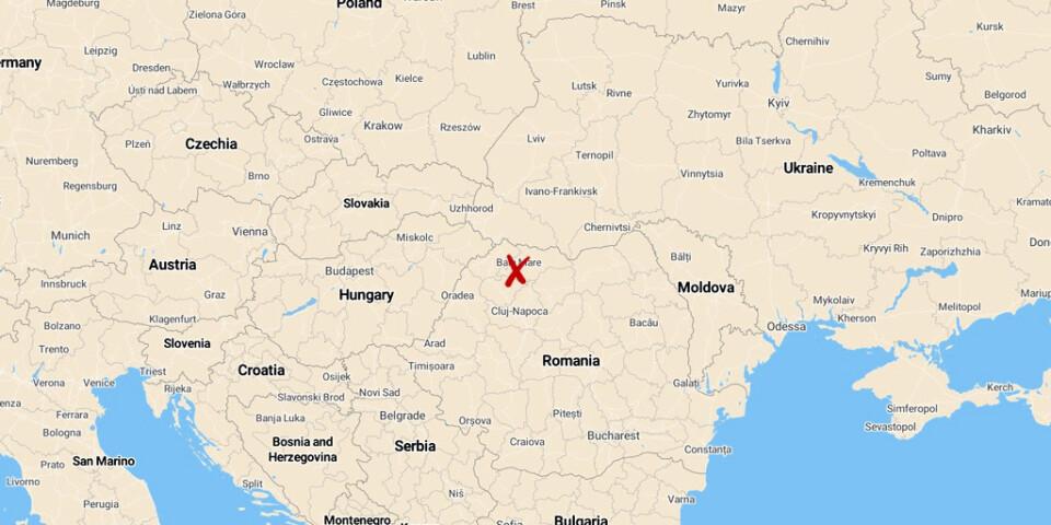 Den Tysklandsfinansierade verksamheten hölls i Maramures i norra Rumänien.