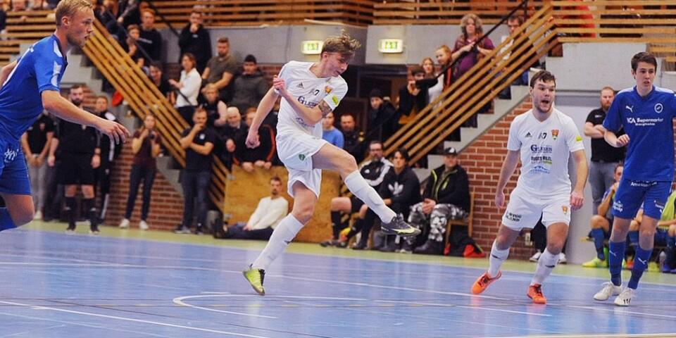 Kalle Axelsson var tongivande för GAIF:s andralag i PAIF–cupen.