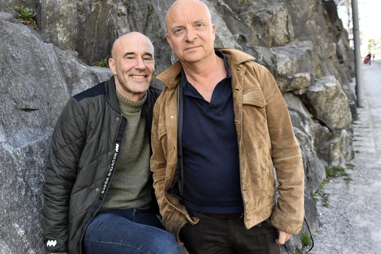 Jonas och Mark tar podden till public service