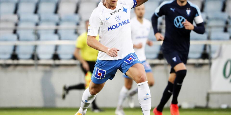 Alexander Franssons sena kvittering räddade en poäng i 1–1-mötet med Malmö FF.
