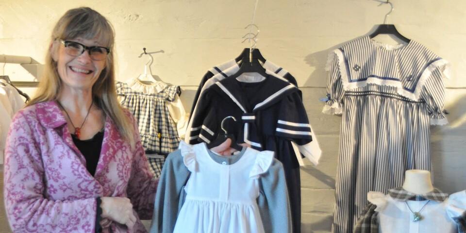 I höstas köpte Désirée en hel syateljé med bland annat barnkläder.