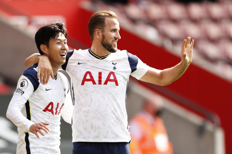 Son och Kane hyllar varandra efter fem mål