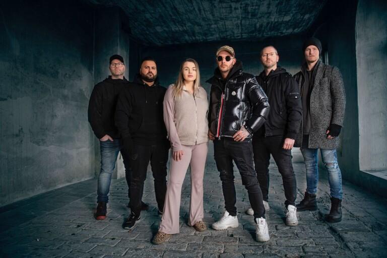 Tony Martinsson, Danjal Kanani, Jonna Lundell, Joakim Lundell, Niclas Laaksonen Och Andreas Österlund