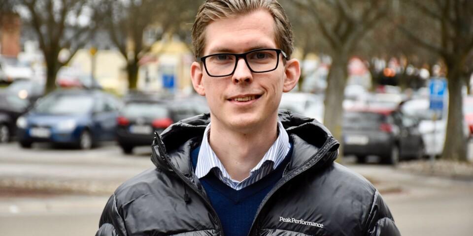 Martin Norrman, vd för Biltemas fastighetsbolag, räknar med att Ronnebybutiken öppnar i slutet av maj 2021.