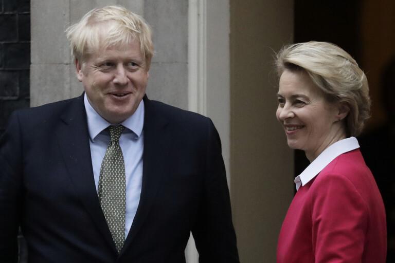 Brexitförhandling pausas – ledare i samtal