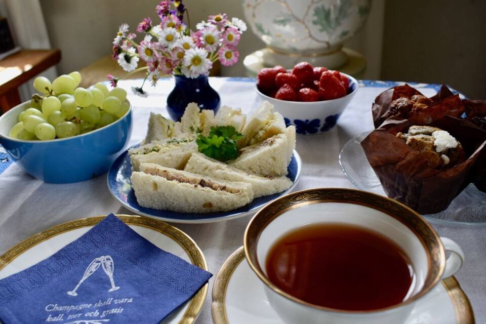 Sandwiches are ideal for both picnics and afternoon tea.