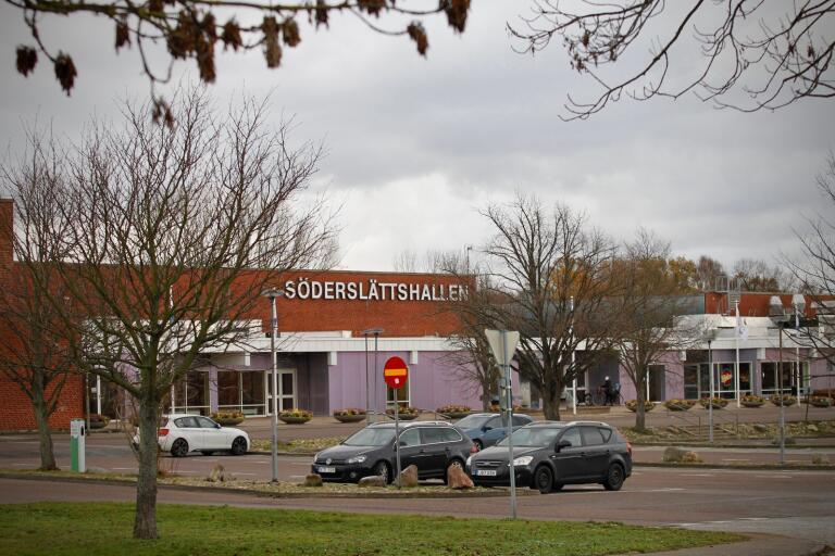 SD vill se ny och förbättrad parkering vid Söderslättshallen. Arkivbild.