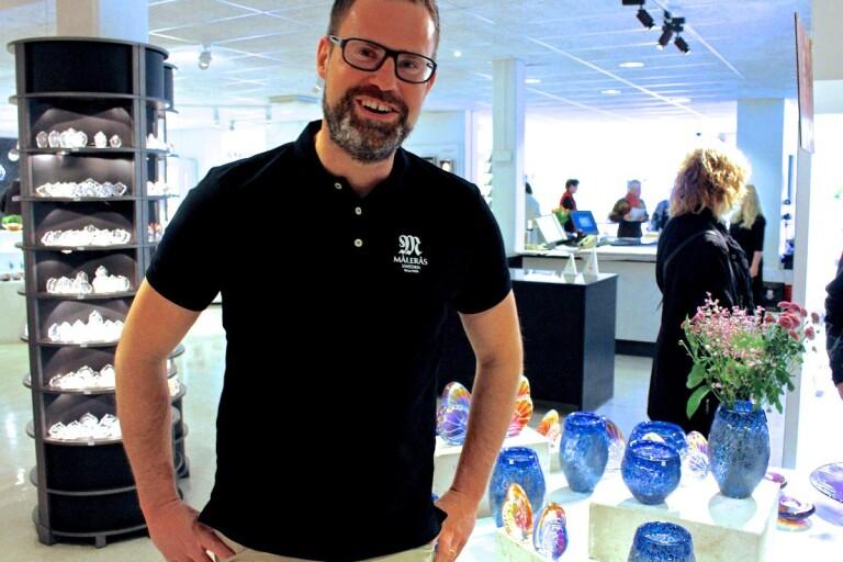 Ny vd på Målerås glasbruk