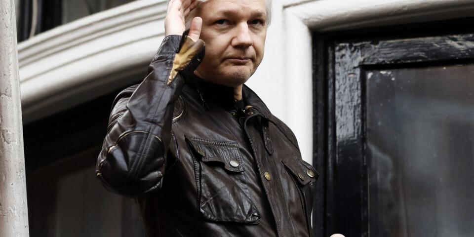 Förundersökningen mot Julian Assange läggs ned. Arkivbild.