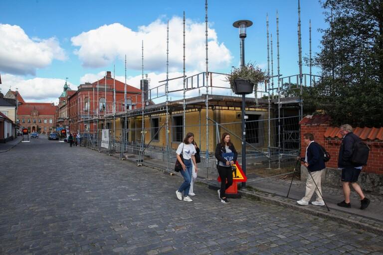 Snurr på bygget i kvarteret Väderkvarnen