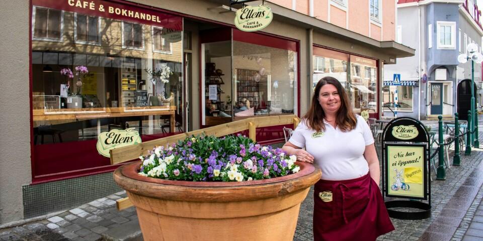 Kaféet Ellens café och bokhandel är uppkallat efter Anna Ekbergs mormor.