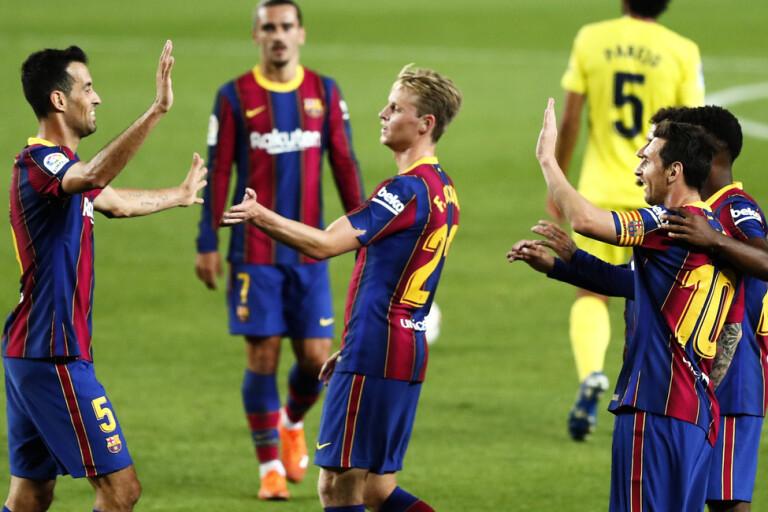 Efter turbulensen – Messi bakom Barças seger