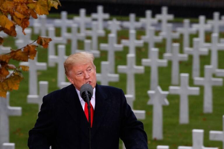 Trump: Historiens förlorare är de döda