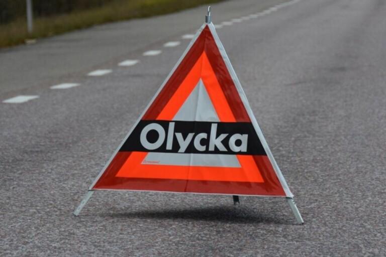 Blåljus: Trafikolycka i Nybro