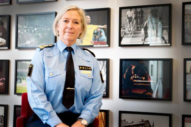 Carina Persson har aldrig ångrat sitt yrkesval. Om hon skulle välja igen skulle hon bli polis.
