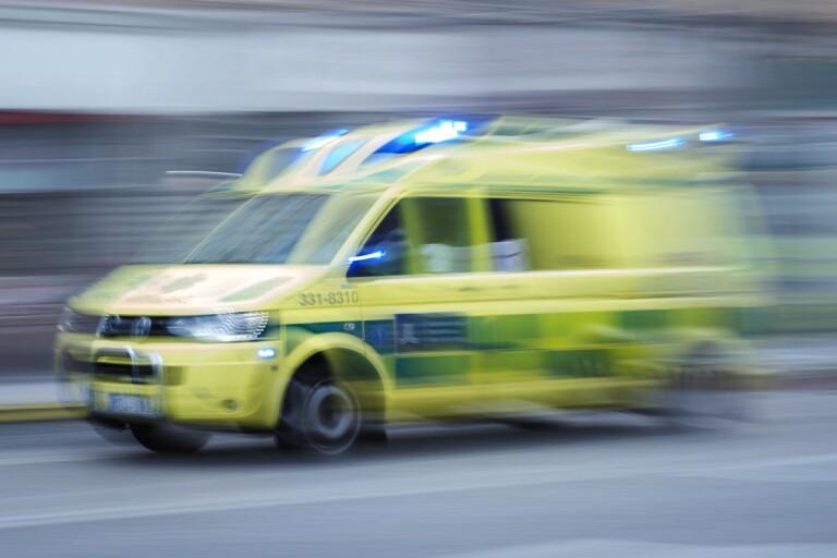 Ambulansutryckning. Arkivbild.