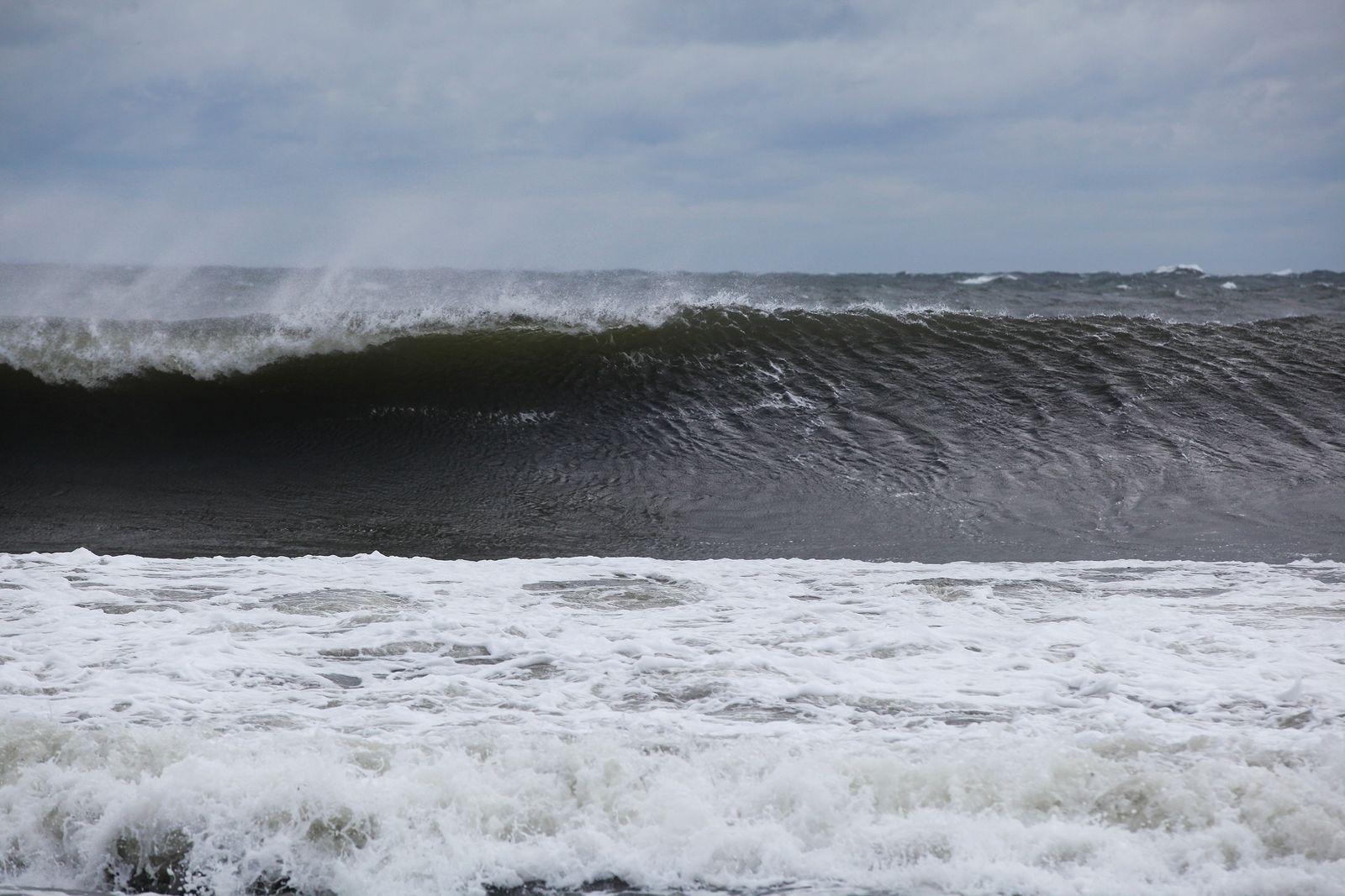 Emellanåt var vågorna exceptionellt rena.