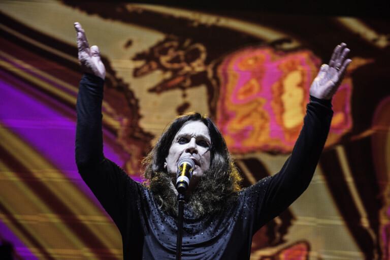 Ozzy Osbourne jobbar på nytt album