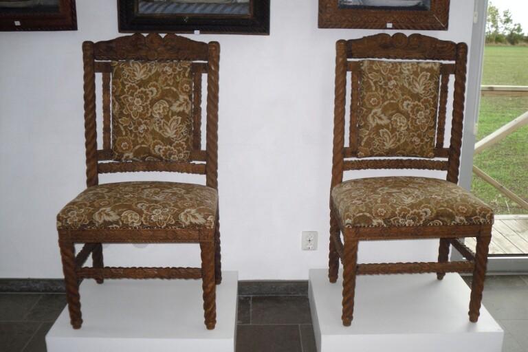 Möbelsnickeri och antikrunda på JAGS-muséet