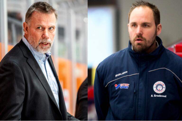 Ska det bli så att Mats Lusth och Andreas Ernebrand leder Karlskrona HK till hösten