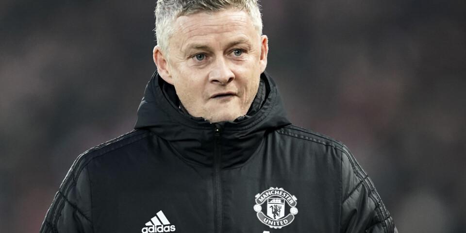 Ole Gunnar Solskjaer vill ha mer tid för att lyfta Manchester United. Arkivbild.