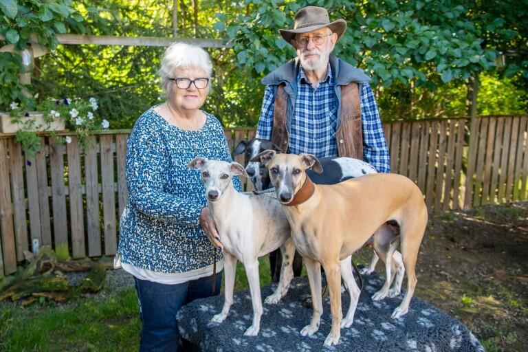 """Har gift sig med varandra – två gånger: """"Hon tyckte att hundar och hästar gick före henne"""""""