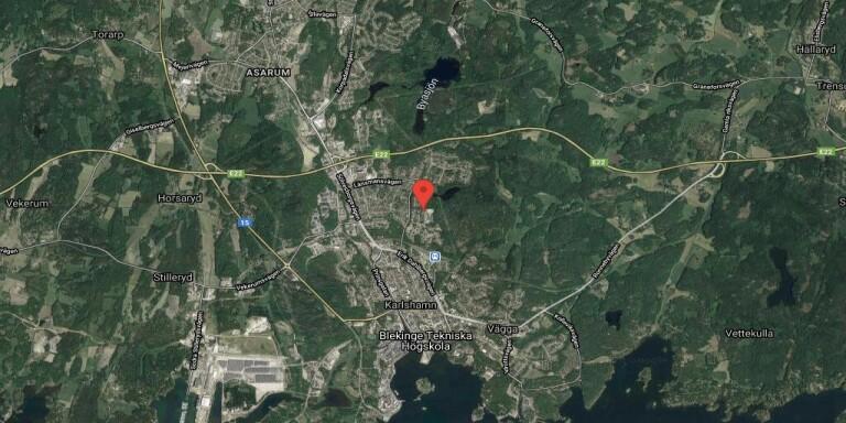 64 kvadratmeter stort hus i Karlshamn sålt till nya ägare