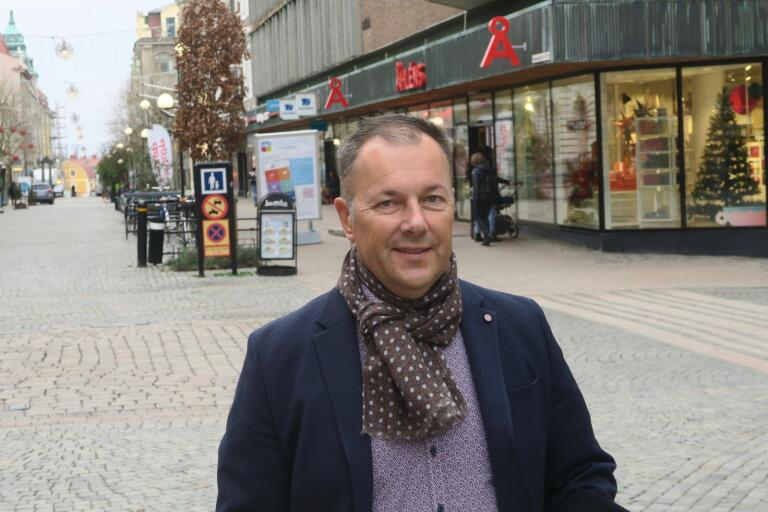 Fastighetsägaren Martin Strandberg bygger om företagslokaler för nya verksamheter i Karlskrona för för 25 miljoner just nu.