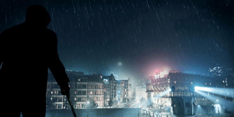 Amsterdam, Östberlin, Turkiet, KGB:s högkvarter och Vietnam är några platser som besöks i spelet, som blandar en del smygande med bombastiska händelser. Pressbild.