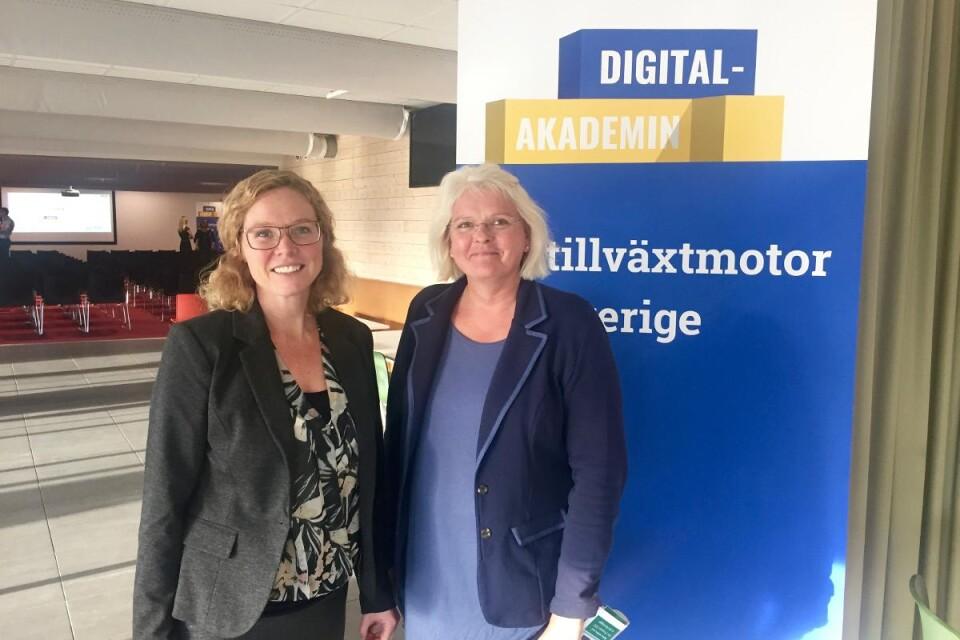 Anette från Ljungby Kommun Jag ser fram mot en utbildning med proffsiga föredragshållare och hoppas på att kunna optimera min blogg Foto: Emma Koivisto