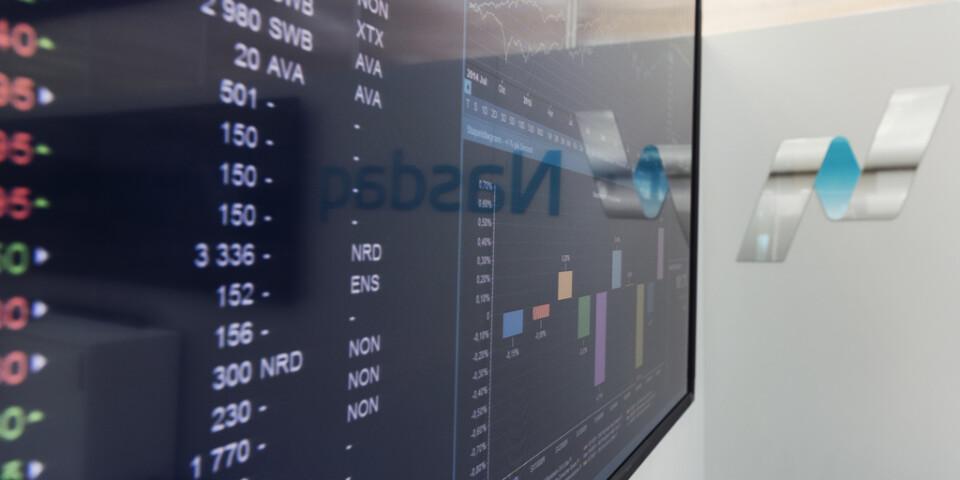Stockholmsbörsen tappade först men stängde på plus. Arkivbild.