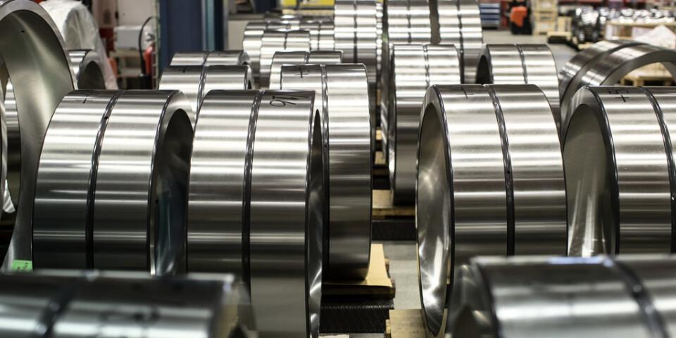 Kullagertillverkaren SKF konsoliderar sin produktutveckling. Arkivbild