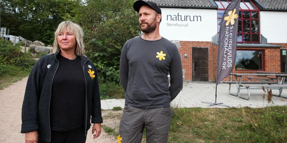 – Ibland känns det som man inte har gjort annat än att plocka fimpar och samla skräp, säger naturvägledare Simon Lundin.