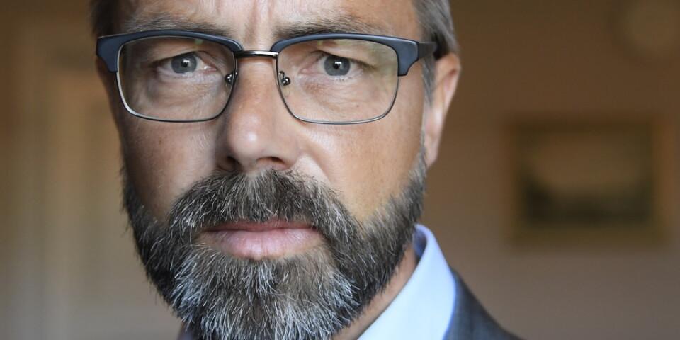 Åklagare Hans Ihrman. Henrik Olin är också åklagare i fallet. Arkivbild.