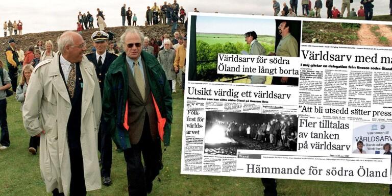 DOKUMENT: 20 år sedan södra Öland blev världsarv
