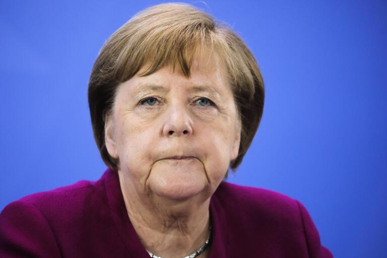Tysklands förbundskansler Angela Merkel meddelar att hon inte vill ställa upp för ytterligare en mandatperiod. Arkivbild.