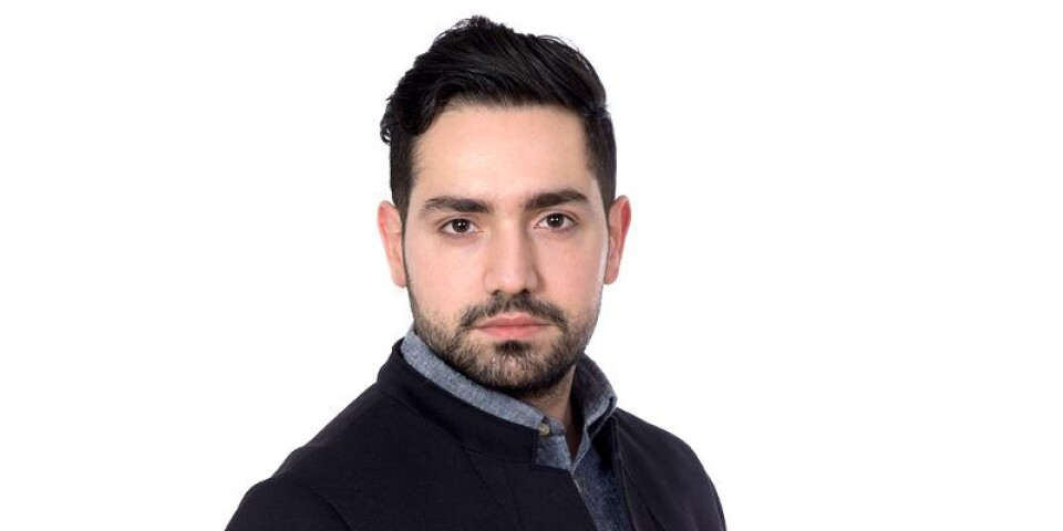 Sofyan Aswad, reporter på Kb Mosaik.