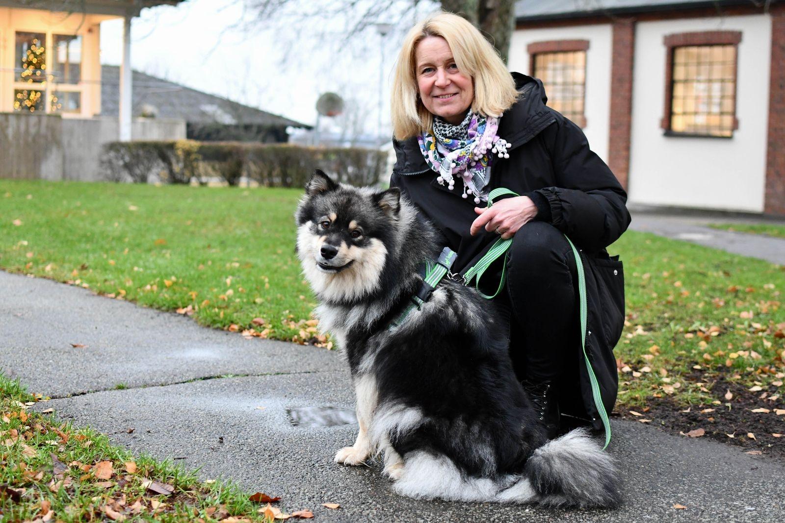 När familjen Bengtsson skulle utökas med en fyrbent medlem stod det mellanstor, aktiv hund på önskelistan. Valet föll på Eila, en finsk lapphund.